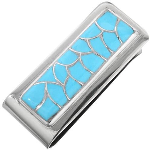 Blue Turquoise Money Clip 32187