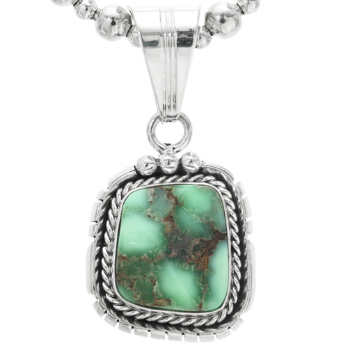 Green Turquoise Pendant 32200