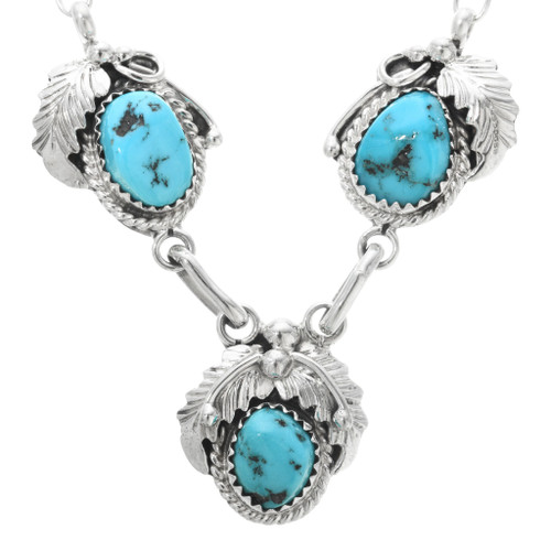 Navajo Turquoise Necklace 32211