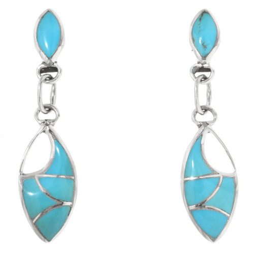 Inlaid Turquoise Earrings 32212