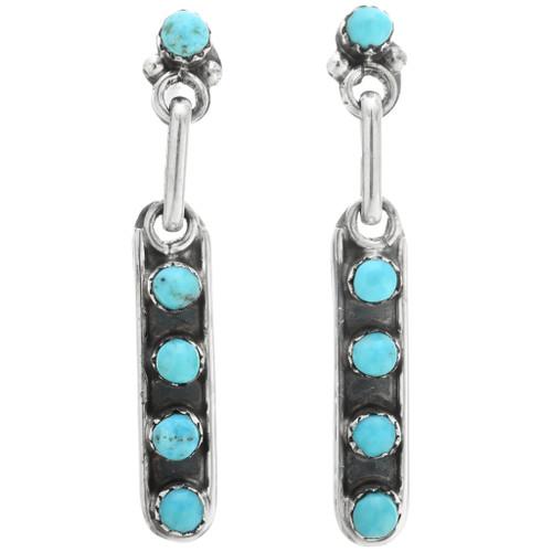 Zuni Turquoise Post Earrings 32258