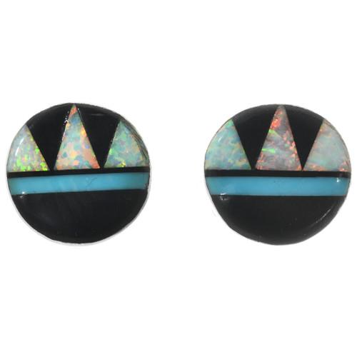 Zuni Opal Earrings 32262