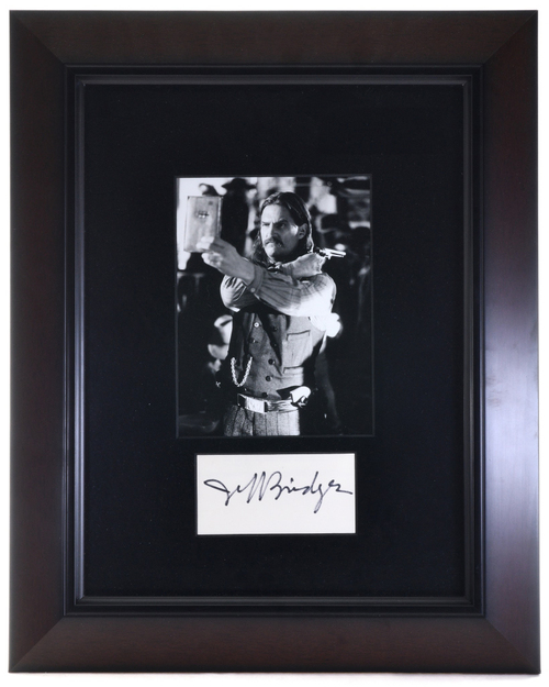 Jeff Bridges Autograph Wild Bill Hickock 32400