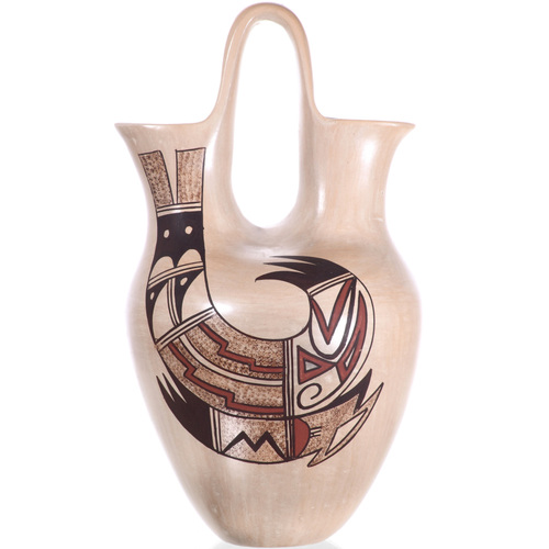 Vintage Hopi Tewa Wedding Vase 32438