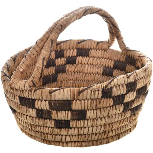 Vintage Papago Indian Basket 32457