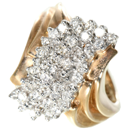 Vintage Diamond  Yellow Gold Ladies Ring 32503