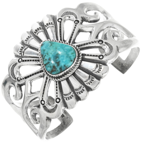 Navajo Turquoise Cuff Bracelet 32552
