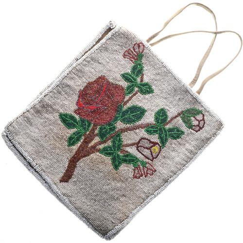 Vintage Plains Indian Beaded Flat Bag