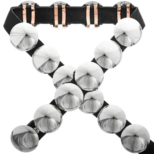 Geronimo Style Silver Concho Belt 32632