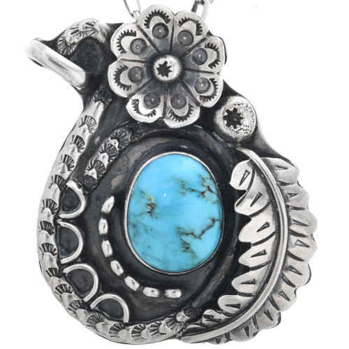 Old Pawn Turquoise Pendant 32639