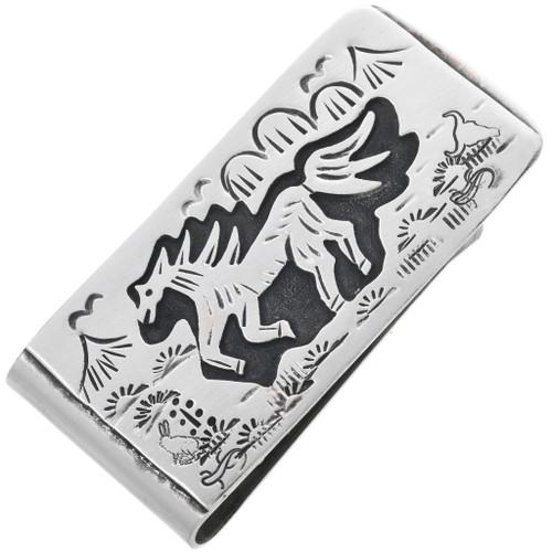 Navajo Horse Money Clip 32816
