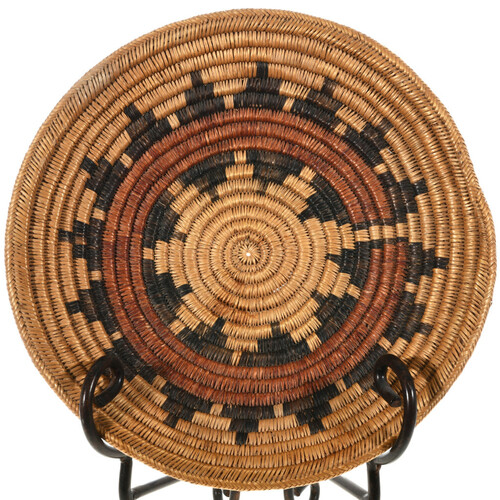 Vintage Navajo Wedding Basket 32706