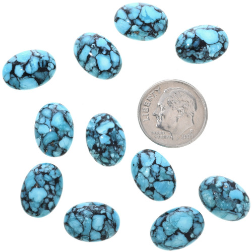 Sky Blue Turquoise Cabochons 32710