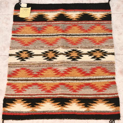 Vintage Navajo Made Wool Rug 32921