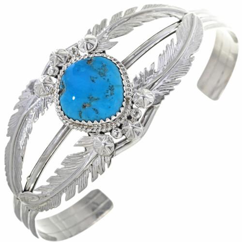 Turquoise Silver Ladies Bracelet 33053