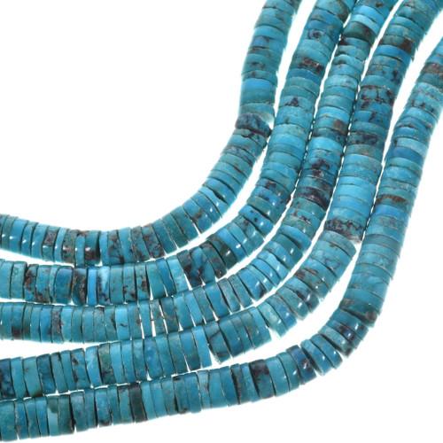 Tibetan Turquoise Heishi 31953