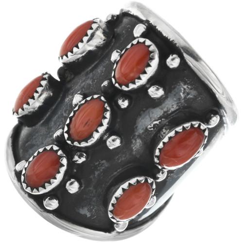 Vintage Mediterranean Coral Ring 33115