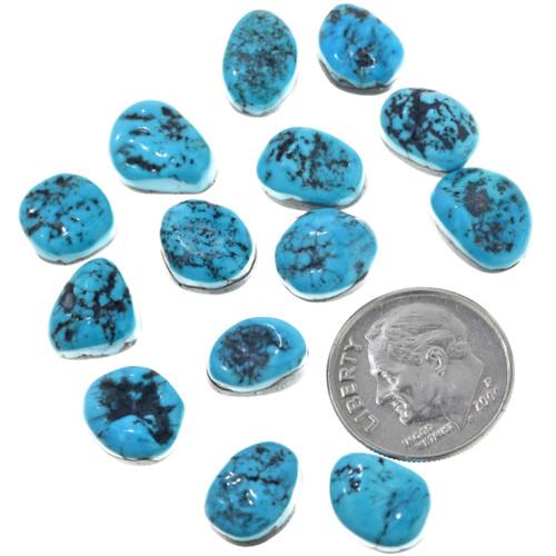 Kingman Turquoise Nugget Cabochons 32751