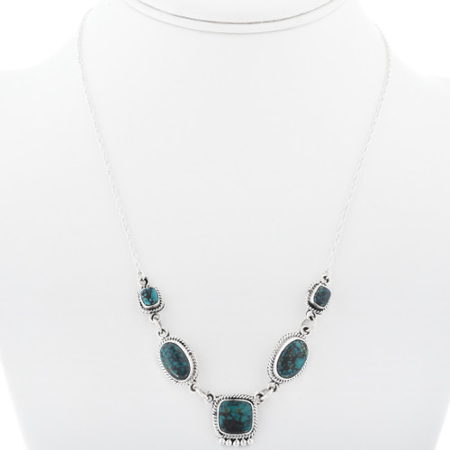 Navajo Turquoise Necklace 33160