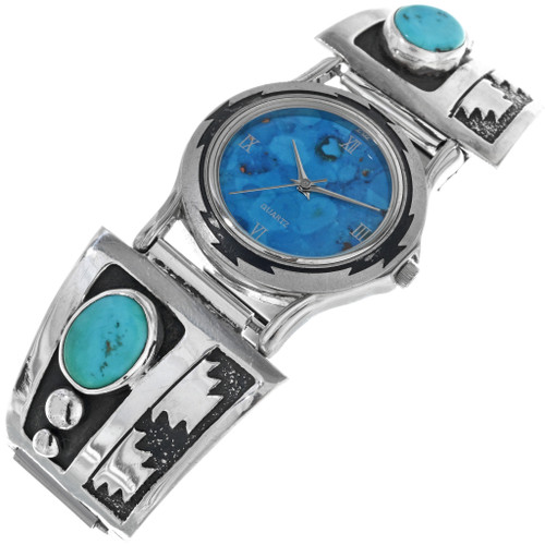 Vintage Tommy Singer Turquoise Watch 33211