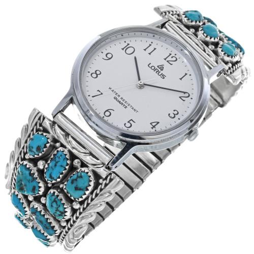 Vintage Turquoise Navajo Watch 33217