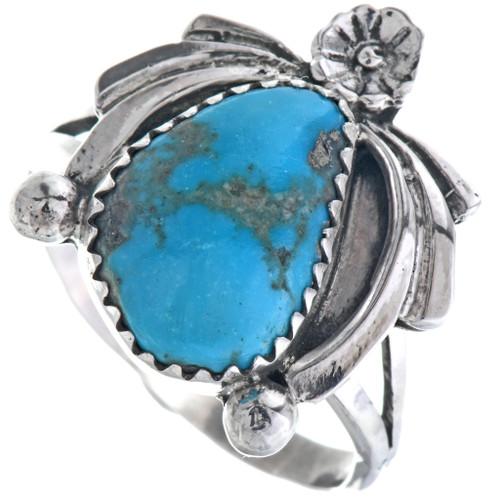 Navajo Turquoise Ladies Ring 33223