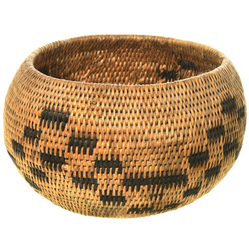 Antique Pomo Indian Basket Bowl 33233