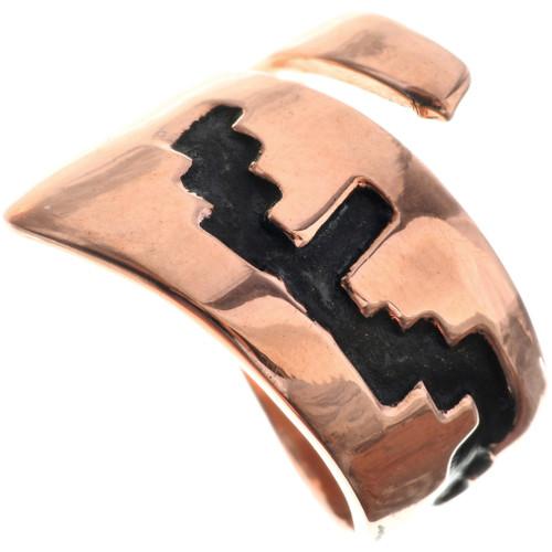 Navajo Copper Ladies Ring 33288