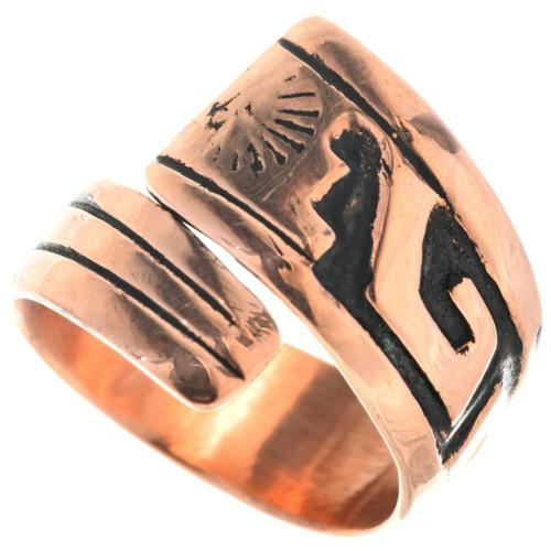 Navajo Geometric Pattern Ring 33289