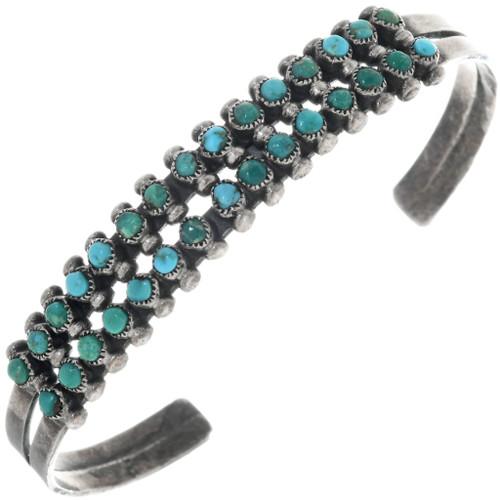 Vintage Zuni Turquoise Bracelet 33292