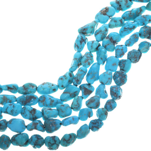High Grade Natural Turquoise Nuggets 32797