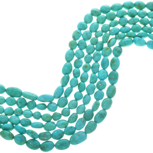 Green Turquoise Beads 31977