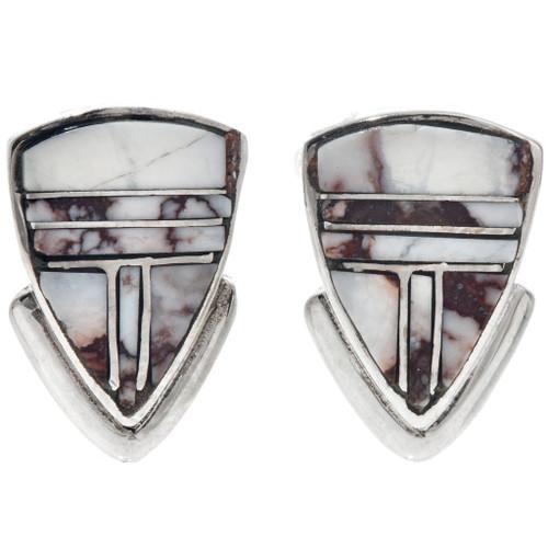 Wild Horse Magnesite Earrings 33348