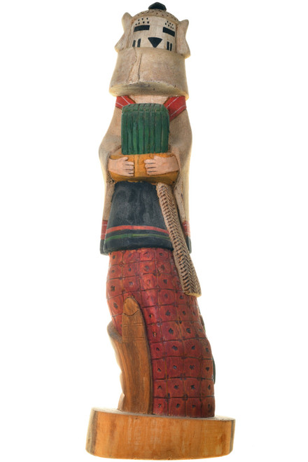 Vintage Hopi Snow Maiden Kachina Doll 33376