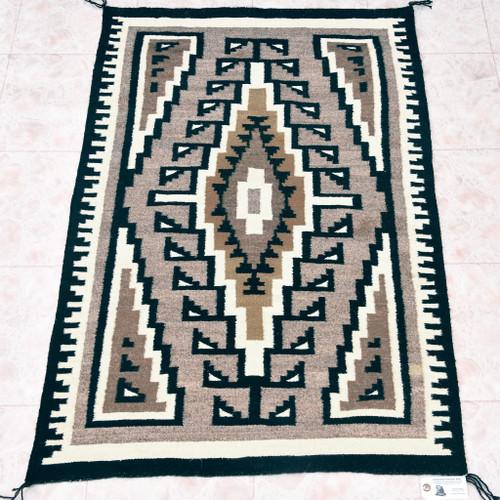 Vintage Navajo Wool Rug 33385