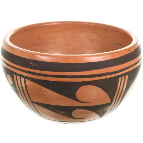 Vintage Hopi Pottery Bowl 33392