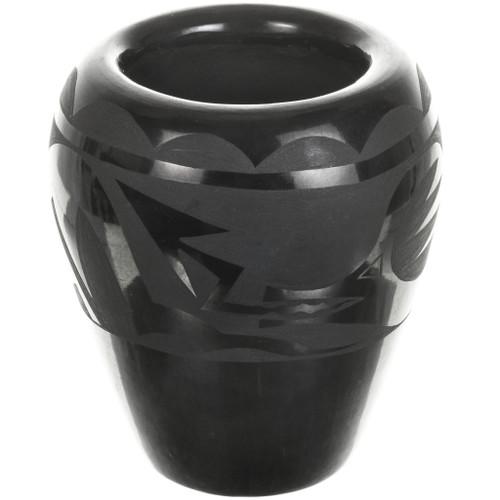 Vintage Santa Clara Blackware Pottery 33395