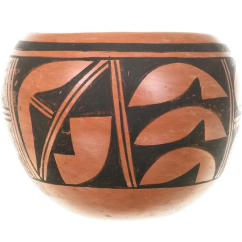 Vintage Hopi Pottery Bowl 33398