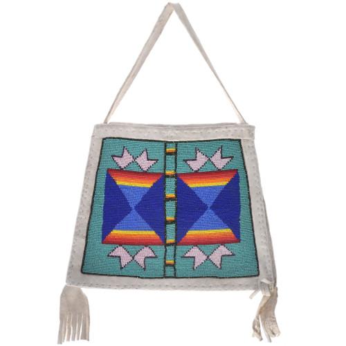 Vintage Native American Beaded Bag 33522