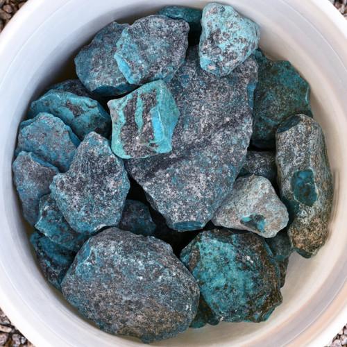 Large Kingman Turquoise Rough 33418
