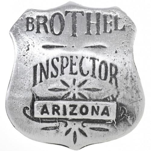 Arizona Brothel Inspector Badge 33524