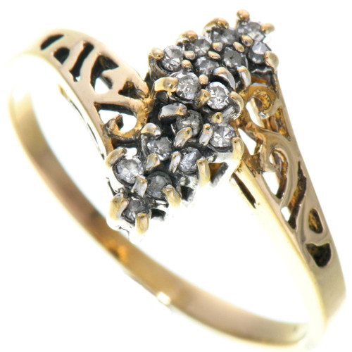 Vintage Gold Ladies Ring 33528