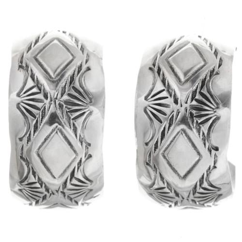 Native American Sterling Post Earrings 33550
