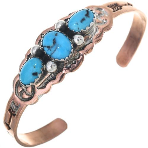 Navajo Turquoise Baby Bracelet 33560