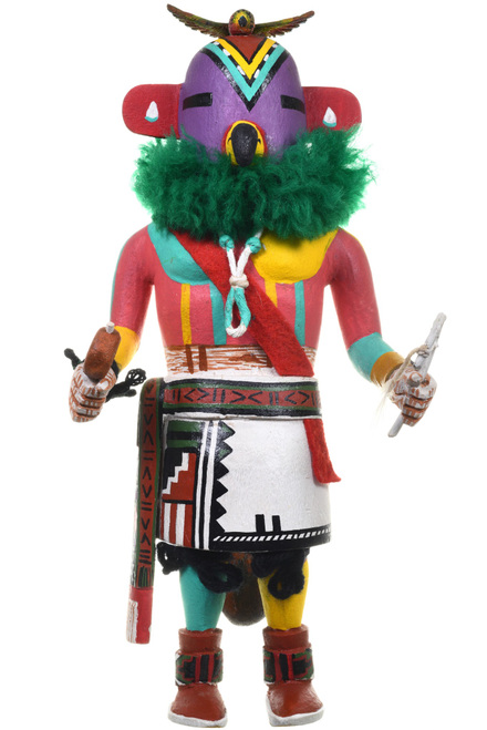 Vintage Hopi Parrot Kachina Doll 33574