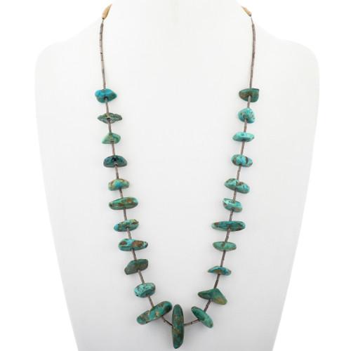 Vintage Turquoise Santo Domingo Necklace 33625