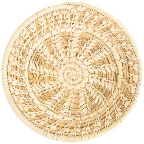 Vintage Papago Indian Basket Small Shallow Bowl 33655