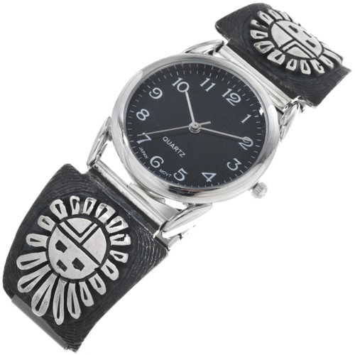 Native American Silver Mens Watch 33694