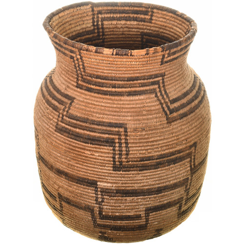 Apache Indian Coiled Jar Olla Basket 33660