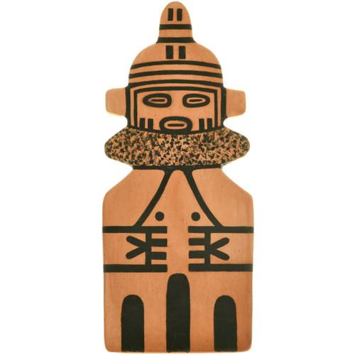 Vintage Hopi Kachina Pottery Tile 33832